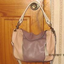 Oryany Leather Danielle Blush Tan Shoulder Tote Purse W/crossbody Strap Photo