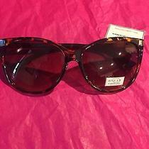 Oscar by Oscar De La Renta Women's Cat Eye Brown Tortoise Sunglasses Nwt Photo
