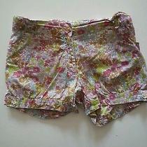 Oscar De La Renta Formal Print Shorts Size 6t Photo