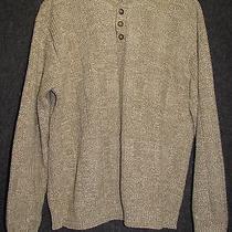 Oscar De La Renta  Khaki Cotton Acrylic Mens Size L   Photo