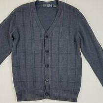 Oscar De La Renta Men's Blue Cotton Blend Sweater Sz M Photo