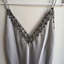 Oscar De La Renta Nightgown Small Black Lace Teddy Retails 125 Photo
