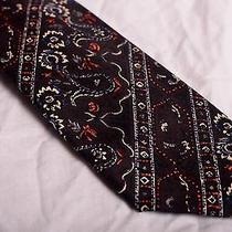 Oscar De La Renta Retro Silk Tie Photo