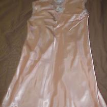 Oscar De La Renta Soft Peach Women's Sleepwear Lingerie Pjs (S) Nwt Photo