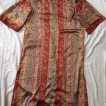 Oscar De La Renta Vintage Dress Robe Night Gown Moomoo Robe Pajamas Sleepwear Photo