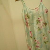 Oscar De La Renta Women Medium Nightgown Robe Teddy Chemise Lingerie Silky Comfy Photo