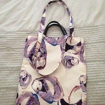 & Other Stories h&m Agate Print Tote Handbag With Leather Accents Photo