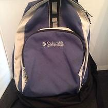 Outdoor Columbia Sportswear Company Blue and Gray Backpack  Photo