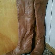 Over the Knee Boots Chinese Laundry Tan Size 10 Like New Condition  Photo