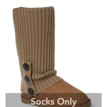 Ozwear Ugg Cardy Socks Caramel for Ugg Boots Photo