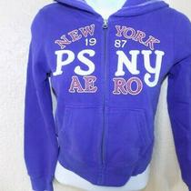 P.s. From Aeropostale Size 8 Girls Purple Zip-Up Hoodie  Photo