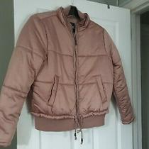 Padded Blush Pink Jacket From 'Me Jane' Designed in New York - Size M Photo