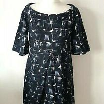Paddy Campbell Woman Navy Blue Wool Dress Size 12 14 Uk  Photo