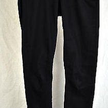 Paige Black Overdye Skinny Leg Leggings Pants 25/29 Usa Photo