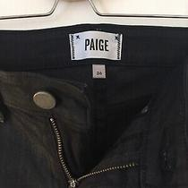 Paige Denim Jeans Black Size 26 Photo