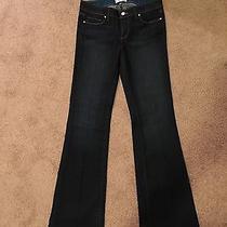 Paige Denim Size 29  Skyline Boot  Dark Wash Like New Photo