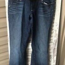 Paige  Maternity Denim Laurel Canyon Jeans Pants Womens Usa Size 26 Photo