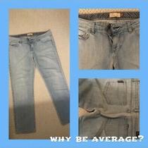 Paige Premium Denim Benedict Canyon Distressed Crop Ankle Stretch Jeans Sz 31 Photo
