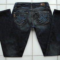 Paige Premium Denim Blue Heights Jeans Las Palmas Tuscan 25 X 30.5l Immaculate Photo