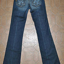 Paige Premium Denim Hidden Hills Las Palmas Jeans in Tuscan - Sz 25 X 34-1/4 Photo