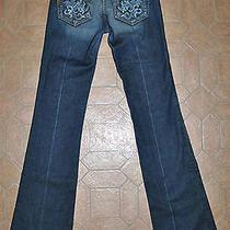 Paige Premium Denim Hidden Hills Las Palmas Jeans in Tuscan - Sz 25 X 34-1/4 Photo