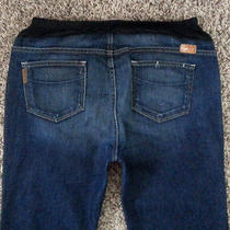 Paige Premium Denim Maternity Benedict Canyon Jeans Sz 34 in Tuscan Photo