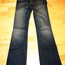 Paige Premium Denim Ppd Laurel Canyon Low Rise Boot Cut Wc059 Tuscan Jeans 27 Photo