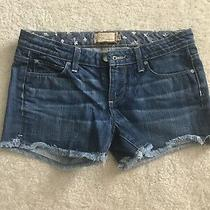 Paige Premium Denim Shorts 27 Photo