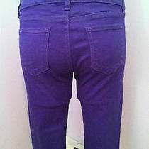 Paige Violet Purple Crop Denim Photo