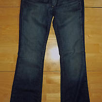 Paige Westbourne Maternity Jeans 27 Boot Cut Tuscan Adjustable Photo