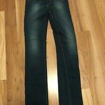 Paige Womens Dark Denim Jeans Pants 27 Photo