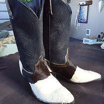Painted Pony Cowhide Boots  Western Frye Style Size 8 M Photo
