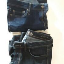 Pair of 2 Dl1961 4way Stretch Kate Jeans Size 29 Light Blue & Dark Blue Photo