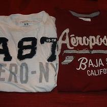 Pair of Aeropostale T Shirts- Medium- Great Condition Free Shipping Photo