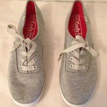 Pair of Grey Keds Women Sneakers.  Size 7.5.  Great Condition Photo