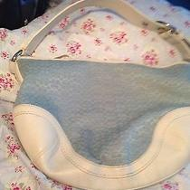 Pale Blue Coach Shoulder Bag /price Reduced  Photo