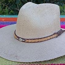 Panama Hats. Cowboy Style. 100% Natural. Waterproof Photo