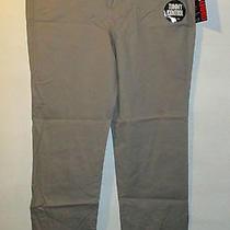 Pants 14 Xlarge Style & Co Tan Stretch Straight Leg Smoothing Tummy Control Jr Photo