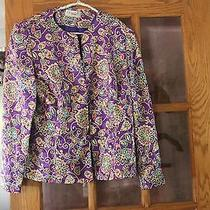 Papell Boutique Shirt Blouse Coverup Medium Dress Coat Photo
