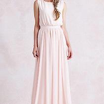Paper Crown Tori Dress Blush Chiffon Size Small Photo