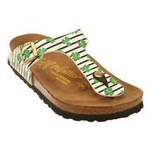 Papillio by Birkenstock Gizeh Lucky Clover Thong Sandals-Free Shpg-Sz 38-7 1/2-8 Photo