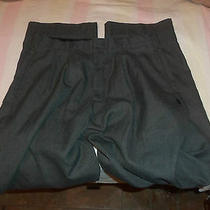 Parker  32 X 32  Grey  in  Color Pleated No Cuffs 145 Photo