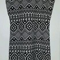 Parker Black and White Dress Photo