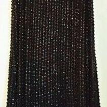 Parker Black Beaded Little Black Dress  Photo