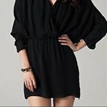 Parker Black Shortsilk Dress Sz S Photo