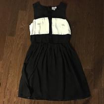 Parker Black & White Dress Size Xs Photo