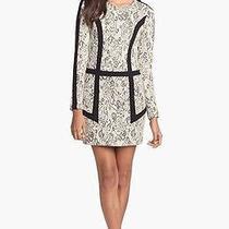 Parker 'Blanche' Jacquard Shift Dress Size M Photo