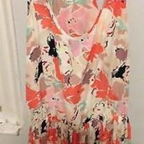 Parker Floral Dress Size Medium Photo