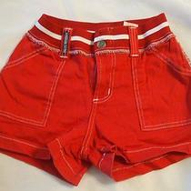 Parker Jeans Childrens Shorts Red. Photo