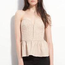 Parker Lace Bustier Nude Lace Small Photo